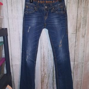 Rock Revival 'Patti' Boot Jeans